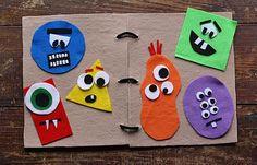 Make a Monster Felt Board - Crafts by Amanda @amandaformaro