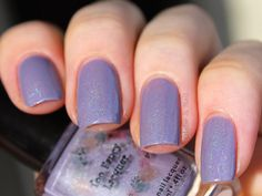 Globe & Nail: Too Fancy Lacquer: Lush Lavender