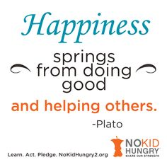 www.nokidhungry2.org is an interactive website for Youth ages 5-25. Get involved! Learn, Pledge, Act and visit www.nokidhungry2.org