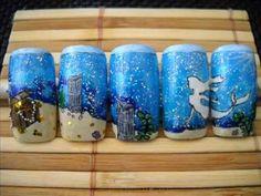 Ocean Nail Designs | Ocean Mermaid Nail Art Design - Entry to UnderTheLilyShadow's ...