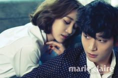 Go Joon-hee and Jinwoon - Marie Claire Korea June 2013