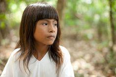 Niño de la etnia Lacandon, Chiapas (al suroeste mexicano)
