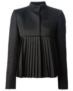 NEW black fashion Blazer - New Outfits Blazer Fashion, Hijab Fashion, Fashion Dresses, Suit Fashion, Fashion Clothes, Fashion Details, Look Fashion, Fashion Design, Fashion Fall