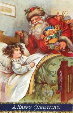 Vintage Christmas cards by AL BOWLEY