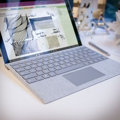 Beauty to hold and behold. Introducing the new Surface Pro 4 Signature Type Cover.