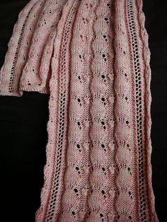 Free Pattern: Mother of Pearl Scarf by Grumperina