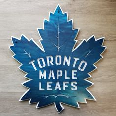 Toronto Maples Leafs Metal Sign by Foundry Brothers - Metal Art Toronto Maple Leafs Wallpaper, Toronto Maple Leafs Logo, Wallpaper Toronto, Wallpaper Wallpapers, Custom Metal Art, Metal Wall Art, Maple Leaf Cookies, Maple Leafs Hockey, Funny Animal Quotes