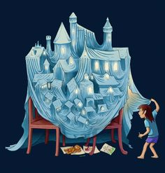 Castelo de sonhos.