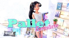 How to Make Doll Pallet Furniture - Doll Crafts