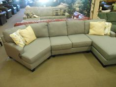 Ercup Sectional With Chaise Cuddler