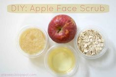 Make a face scrub from stuff you probably already have in your kitchen.