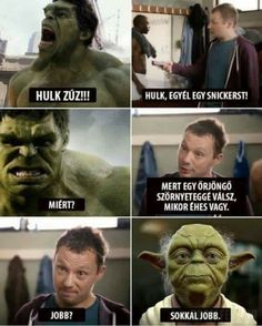 Have you laughed today? Enjoy the meme 'hulk is yoda! Memedroid: the best site to see, rate and share funny memes! Funny Shit, Hilarious, Funny Stuff, Funny Things, Memes Humor, Jokes, Marvel Dc, Hulk Memes, Funny Images