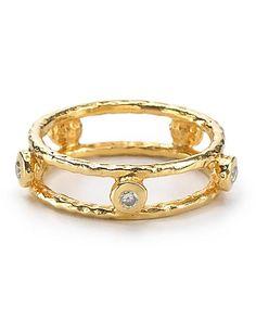 Melinda Maria Pinball Sparkle Ring   Bloomingdale's