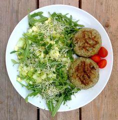 Hamburguesas de trigo sarraceno, una receta vegana y sin gluten de Núria Roura, para candidiasis y dietas bajas en histamina.