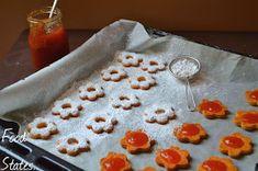 Μπισκοτάκια με μαρμελάδα - Food States Sweet Recipes, Deserts, Dessert Recipes, Pudding, Breakfast, Blog, Birthday, Morning Coffee, Birthdays