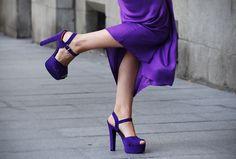 Purple shoes!!