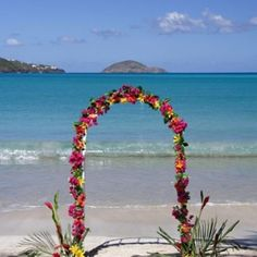 If you're having a destination wedding and you're looking for tips and ideas you've come to the right place! The Destination Wedding Site is a site dedicated to Wedding Ceremony Ideas, Beach Ceremony, Wedding Photos, Wedding Arches, Luau Wedding, Dream Wedding, Wedding Stuff, Seaside Wedding, Wedding Things