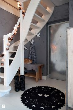 Welcome to my hallway - Make Home Easier Halle, Loft, Front Office, Hanging Chair, Interior Inspiration, Planer, Stairs, Interior Design, Studio