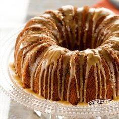 Blackberry Jam Cake from Smucker's®--I wonder if I could switch butter for shortening?