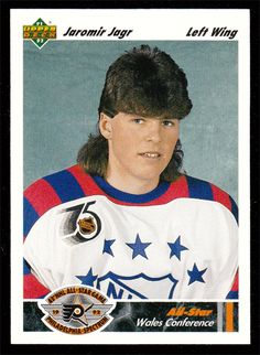 Jaromir Jagr # 617 - 1991-92 Upper Deck Hockey  Oh come on Jags