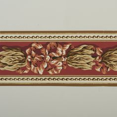 Wallpaper sample: Designed by Sybil Connolly. Part of the Hunt Museum's collection.