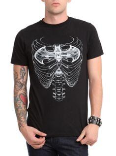 DC Comics Batman Rib Cage X-Ray T-Shirt