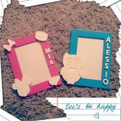 Portafoto personalizzati con gessetti profumati