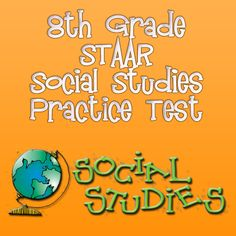 Your 8th grade students will be prepared for the Social Studies section of the STAAR with these free STAAR Social Studies practice test questions for 8th grade students! #staar #staartesting
