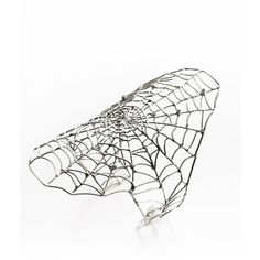 Spider Web Cuff ($1,215) ❤ liked on Polyvore featuring jewelry, bracelets, rings, accessories, ayaka nishi, cuff jewelry and cuff bangle