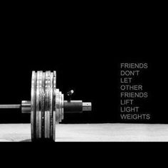 I love lifting weights. Always have :) If it's less than 10 pounds I feel like I am wasting my time. I will get back up to 18's and higher again.