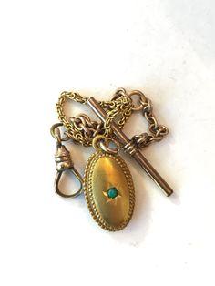 Vintage Watch Chain Fob Victorian by AntiqueJewelryForFun on Etsy