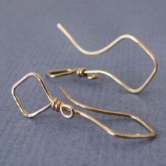 Handmade Jewelry, Artisan Earrings, Artistic Diamond Kites by Rocki Adams