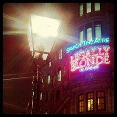 Theatre land, London