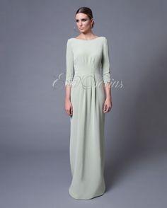 Vestido de fiesta #Vicky Martin Berrocal modelo 201VF VIA: http://goo.gl/zeUPaG #boda #vestidodefiesta #madrina #madrid #tienda