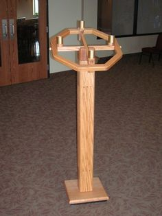 Image result for advent wreath stand