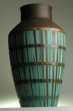 Carstens West German Pottery Ceramic Modernistic Mid 20 th Century Vintage Retro