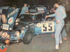 Francoise Conconi Michele Mouton -Alpine A110