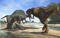 Spinosaurs (The passage is denied) by atrox1 on DeviantArt