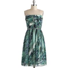 Time of My Life Dress in Sea ($178) ❤ liked on Polyvore