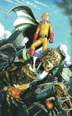 one punch man - a really beautifully drawn manga, amazing backgrounds combined with a really plain looking main character make for hilarious clashes. lots of fun lots of laughs and some great action scenes too.