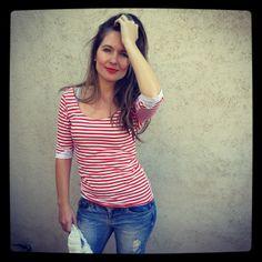 Diseñadora de ropa femenina Saison Camisetas www.facebook.com/Saison.camisetas