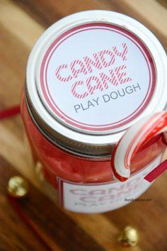 Candy Cane Play Dough 4