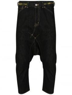 Comme des Garcons Ganryu Extreme Drop Crotch Denim Jeans Indigo