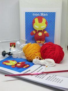 Iron man avengers crochet kit