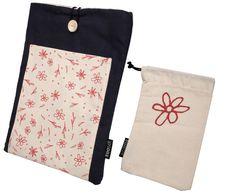 Color Small Handprint Black Drawstring Bag 17h X 14.2w