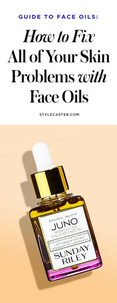 How to fix ALL of your skin problems with face oils | skin care tips