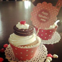 #cupcakes #Felicità Deliciosos cupcakes para San Valentín!!