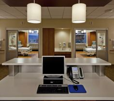 From the decentralized nurses' stations distributed between every two rooms, nurses can easily see patients and be approachable to families ...