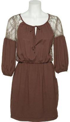 ROMEO  JULIET COUTURE Lace  Crepe Chiffon Bohemian Dress [RJPRD1688] ♥