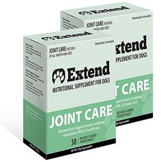 Extend Joint Care Natural Glucosamine with MSM for Dogs 2 Box * You can find out more details at the link of the image. This is an Amazon Affiliate links.